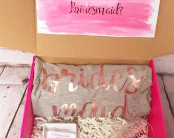 Bridesmaid proposal box / bridesmaid proposal / maid of honor proposal / maid of honot proposal box / bridesmaid gift / maid of honor gi