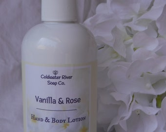 Rose & Vanilla Body Lotion
