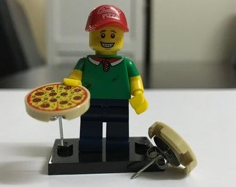 Pizza Lego Earrings