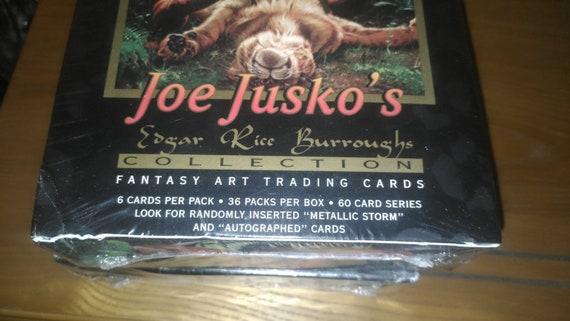 1994 joe jusko's Edgar rice Burroughs collection fantasy trading cards Art & Collectibles