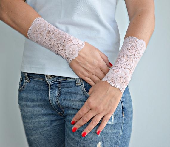 Poignet Tatouage Cover Up Bracelet Manchette Longue De Vieux Etsy