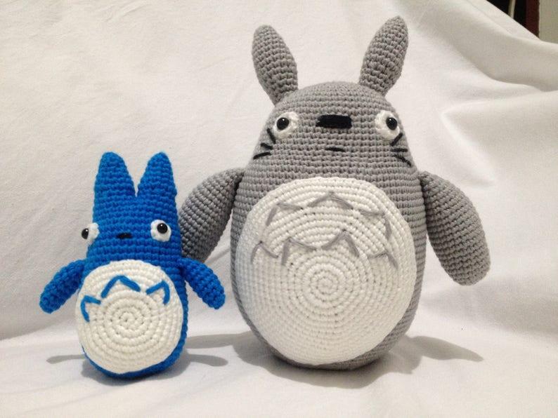 Crochet Big Totoro Plush Totoro Toy Gift My Neighbour  17e16d5cb