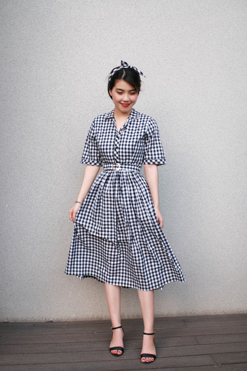 1940s Dress Styles LOLO Dress #1 in