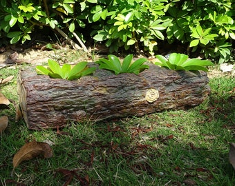 Garden Ornament Tree Stump Planter