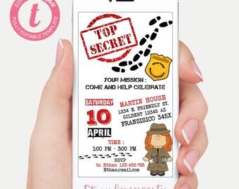 I spy invite | Etsy