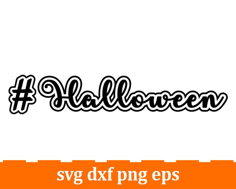 halloween silhouette Hashtag halloween svg #halloween svg halloween quote halloween decal halloween cut file halloween stencil