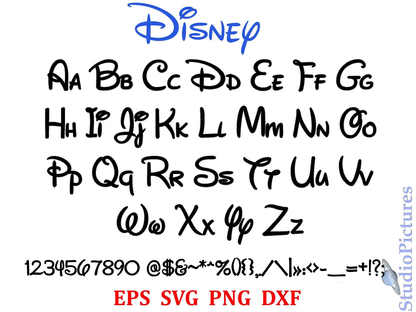 Walt Disney Schriftart
