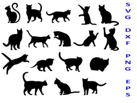 c7649271b66ebf Svg gatti animali in formato svg gatto razza SVG Silhouette | Etsy