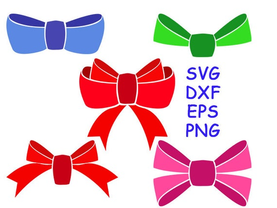 Download Bow svg, bow dxf, bow png, cut files, bows clipart ...