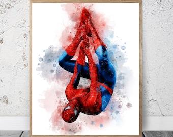 N476 Tom Holland Spider-Man Actor Movie Star Art Poster