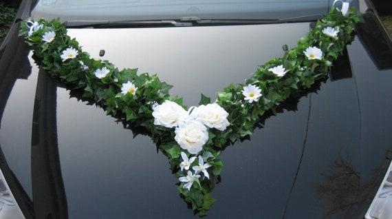 Autoschmuck Hochzeit Brautauto Blumengesteck Girl Etsy