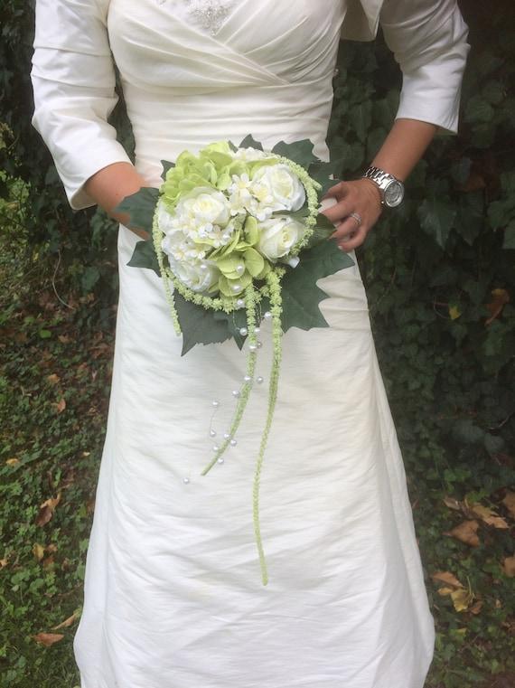 Edler Brautstrauss Hochzeit Rosen Standesamt Braut Etsy