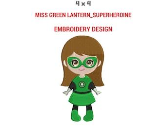 Green Lantern Cross stitch pattern Fantasy art Comics Printable Pattern Superhero birthday gift Child room decor Gift for brother