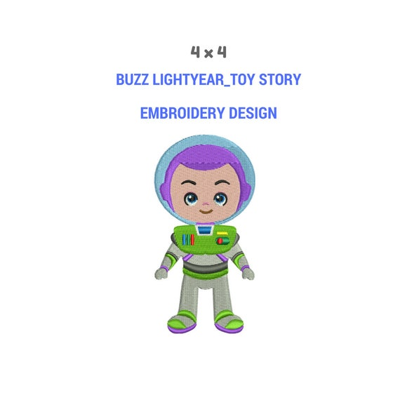 Zabawka Historia Buzz Lightyear Haft Design Projektowanie Etsy