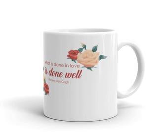Rose Van Gogh | Mug