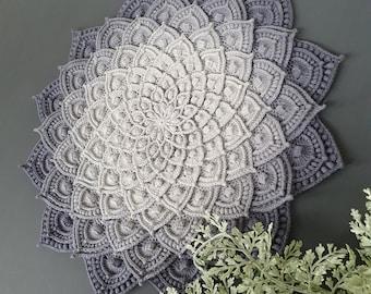 "Crochet Full video MC doily ""Asteria""+pattern PDF"