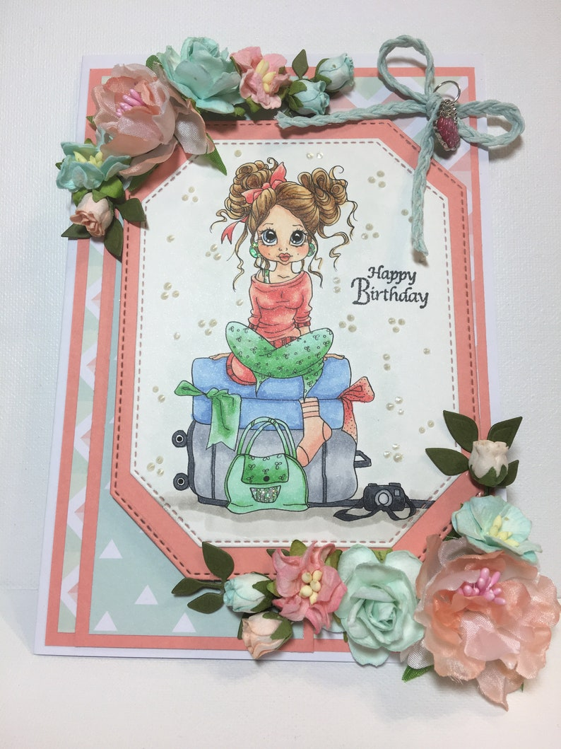 Birthday Card For Her 3D Fancy Handmade