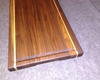 Beautiful Walnut Hardwood cutting board