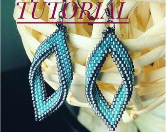TUTORIAL Shield Earrings