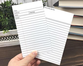 Library Card Review | Bookmark