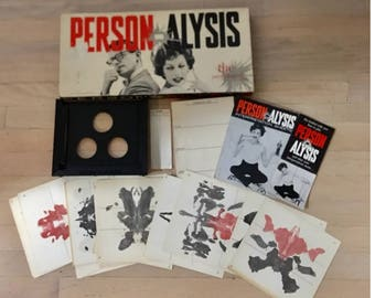 Person-Alysis Game ~ A Lowell Game 1957 Resham LTD/Collectible  !