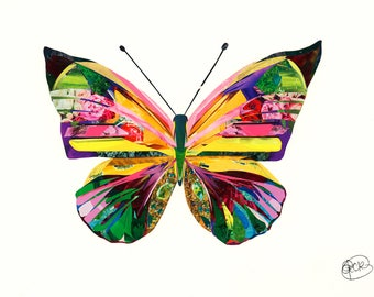 Butterfly by Sarah Jackson - Art Print