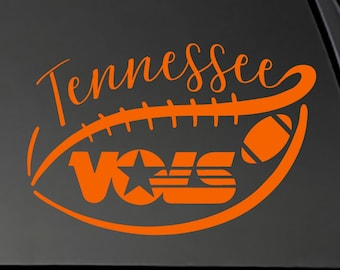 Tennessee Vols Decal Etsy