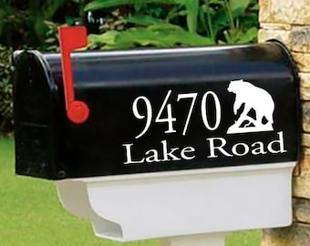 bear mailbox etsy