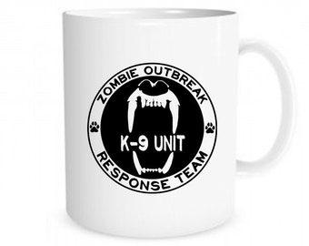 Zombie Outbreak Response Team K-9 Unit - Coffee Mug - 11oz ceramic