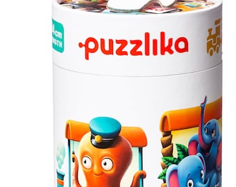 Toddler's Puzzles Train by Puzzlika