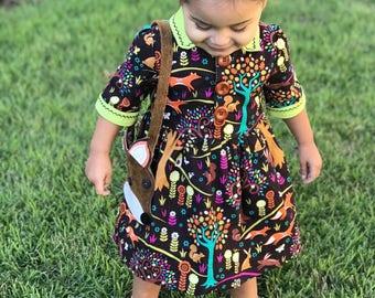 Girls dress, Little girls dresses, vintage girls dress, girls fall dress