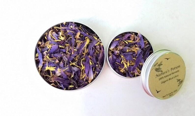 Blue Lotus Edible Flowerherbal Teaherbal Smokeculinary Etsy