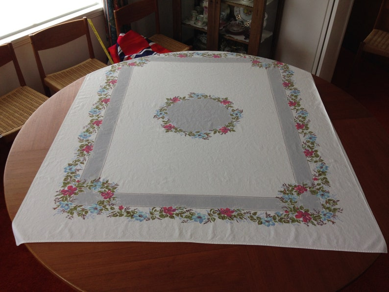 Tablecloth from 1950/'s Free US Shipping!