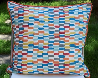 Pillow cover/pillow cover with polka dots, 50 x 50 cm