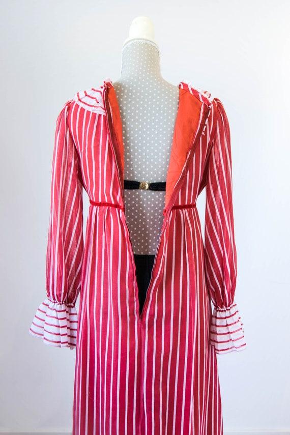 Vintage prairie dress M-L, 70s 80s edwardian prai… - image 8