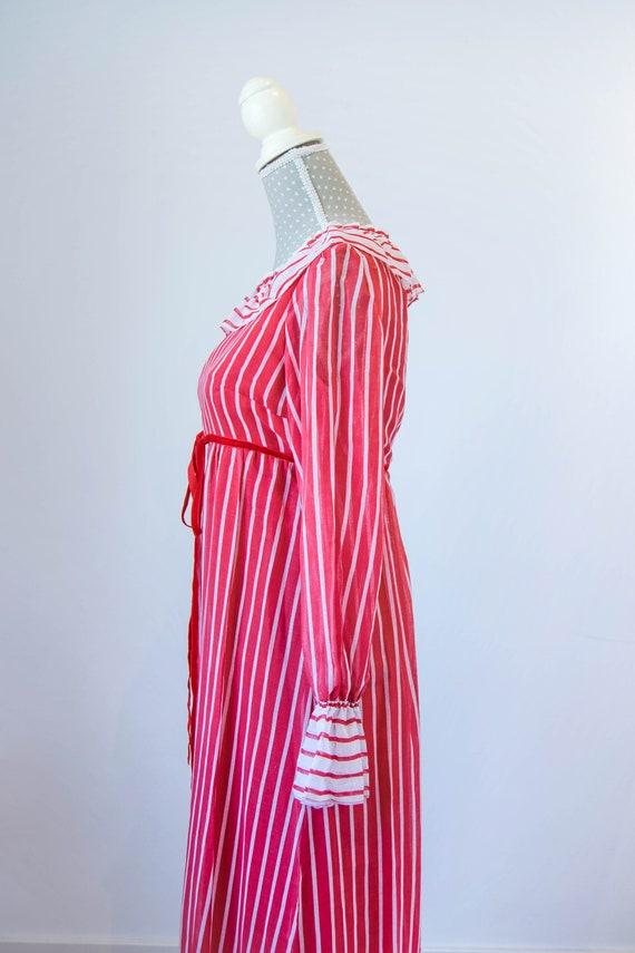 Vintage prairie dress M-L, 70s 80s edwardian prai… - image 7