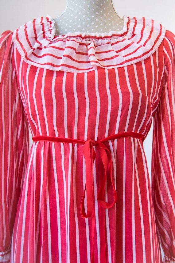 Vintage prairie dress M-L, 70s 80s edwardian prai… - image 9