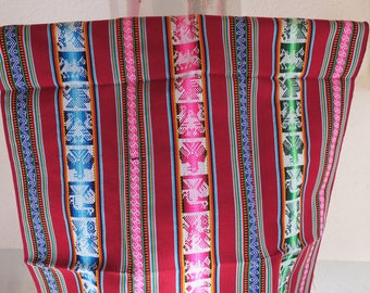 Bolivian Aguayo, Peruvian fabric, fabric Andean, weaving, ethnic