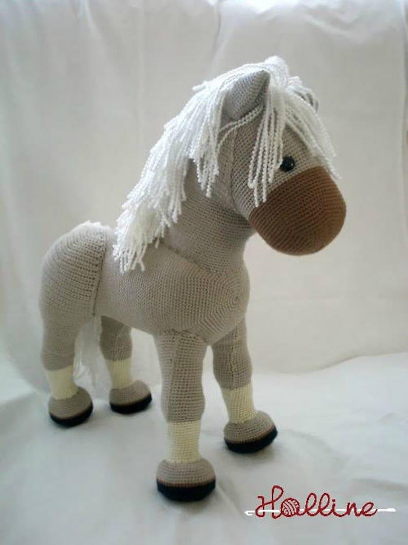 Pdf Pattern Flicka The Horse English Pdf Crochet Pattern Etsy