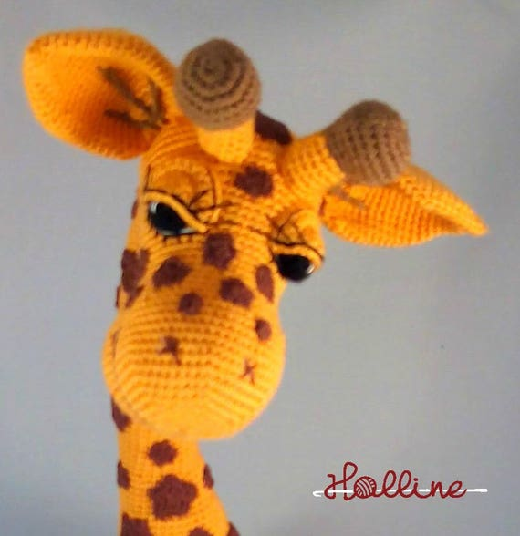 Crochet Pattern Giraffe April Crochet Amigurumi Giraffe Etsy