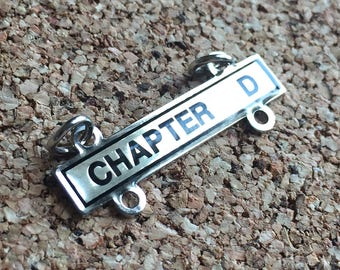 Chapter D Necklace Badge
