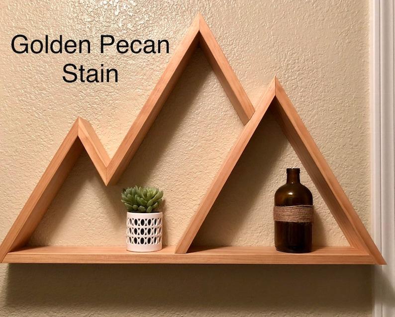 Mountain Shelf, Mountain Shelves, Rustic Wood Shelf, Wood Shelf, Shelf  Decor, Floating Mountain Shelf, Decorative Shelf, Wall Shelf