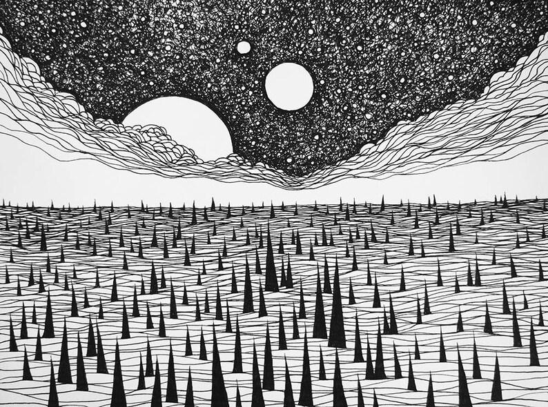 Lucas Allen Cook Sea of Thorns image 0
