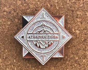 Rose Gold x Trainer Tips Badge Shiny Ed.