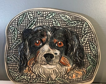 Portrait of Your Cat or Dog on a Handmade Ceramic Tile