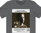 Gift for Drummer, Drums Graphic Tee, Tony Williams T Shirt, Gretsch Drums, Afro American Artist