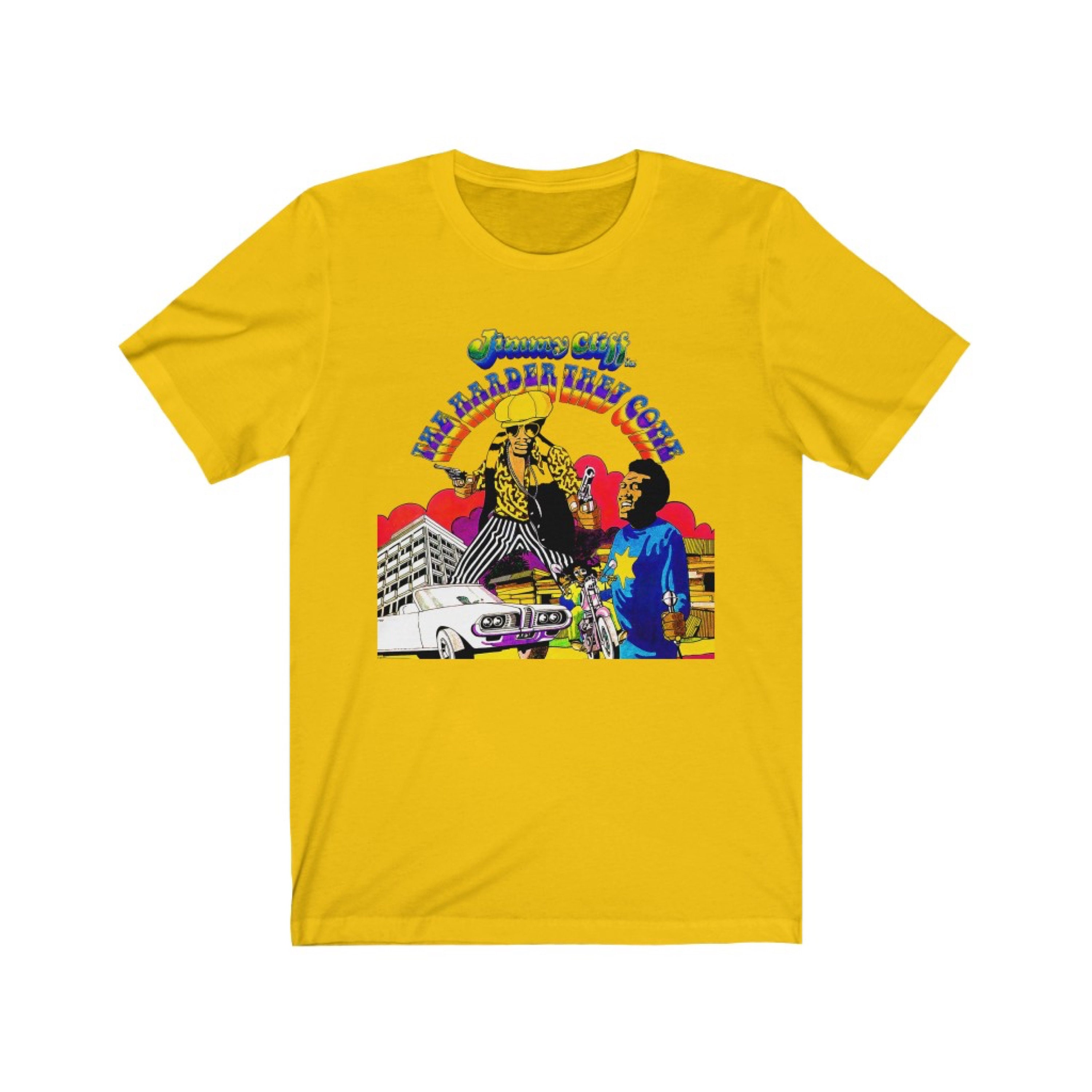 Jimmy CLIFF The Harder They Come Reggae Musique T Shirt