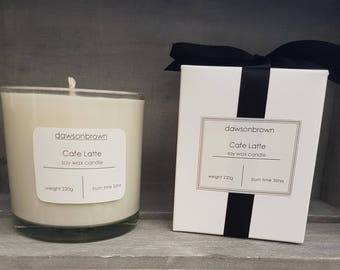 Cafe Latte Soy Wax Candle