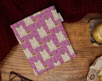 Caticorn book sleeve