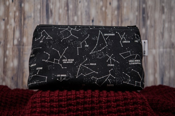 Glow in the dark constellations bag
